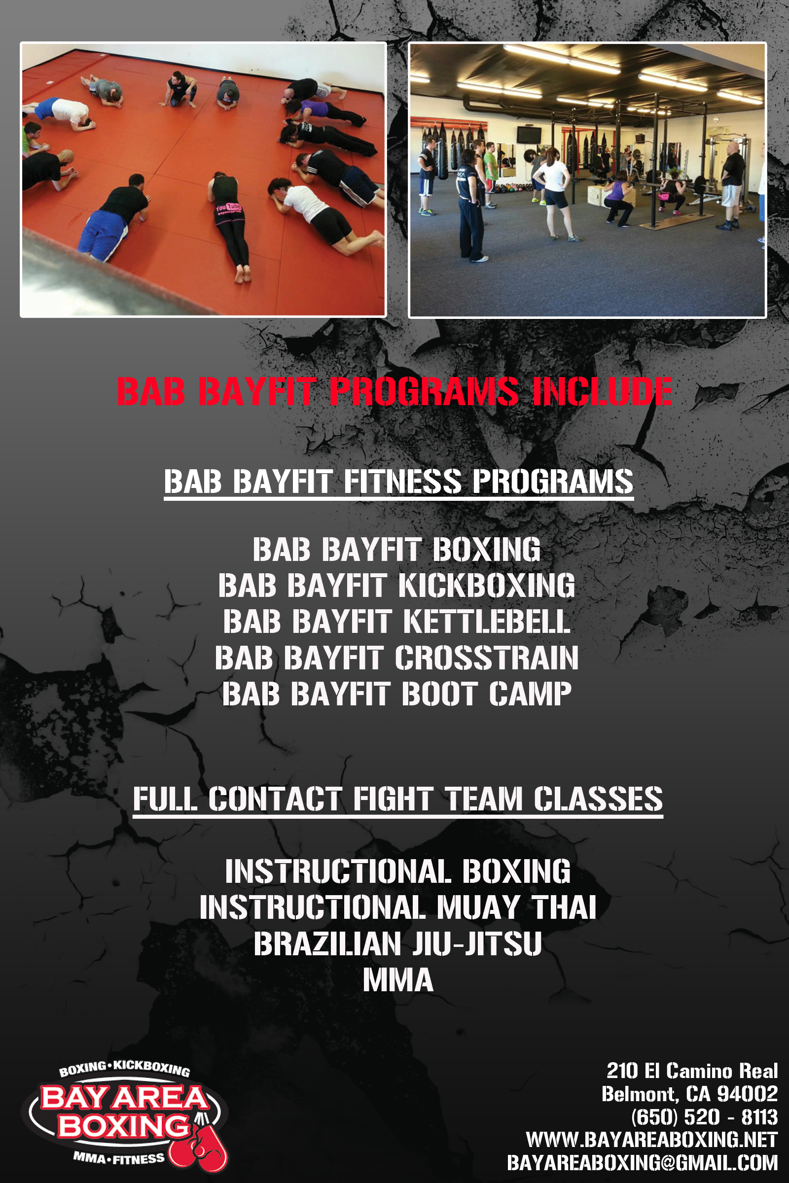 Programs Bay Area Boxing