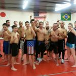 Tuesday/Thursday Mixed Martial Arts class at Bay Area Boxing Belmont Ca